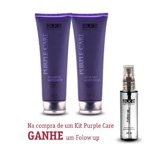 Kit Manutenção Purple Care 250ML Alka - Ganhe um Follow up