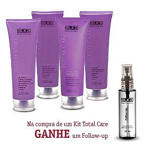 Kit Manutenção Total Care 250ML Alka - Ganhe um Follow up