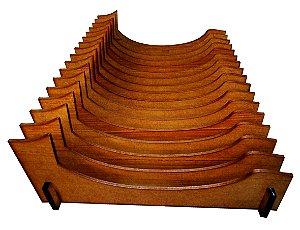 Organizador de Pratos Vertical (16 pratos)