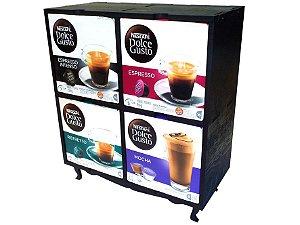 Suporte para 4 Caixas de Capsulas de Café DOLCE GUSTO