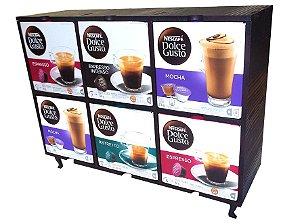 Suporte para 6 Caixas de Capsulas de Café DOLCE GUSTO