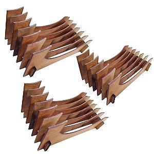 KIT 3 Organizador de Pratos Vertical (06 pratos)