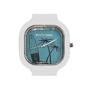 Relógio Perfect Waves Branco