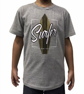Camiseta Juvenil Perfect Waves Surfer