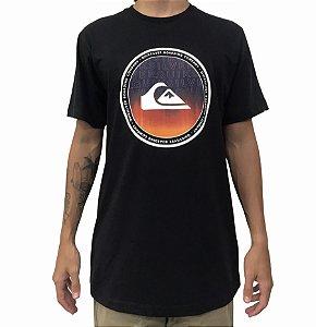 Camiseta Quiksilver World Surge Preta