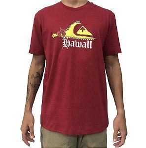 Camiseta Quiksilver Hi Ax Vermelha