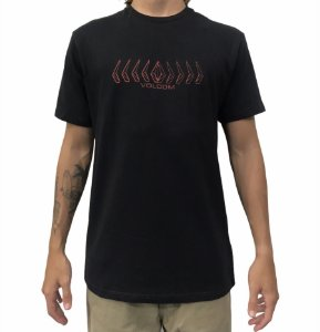 Camiseta Volcom Position Black
