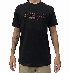 Camiseta Volcom Position Black