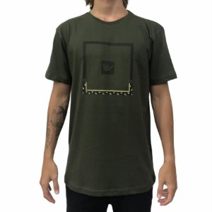 Camiseta Hang Loose Logafricor Verde