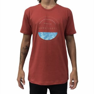 Camiseta Hang Loose Stamp Red
