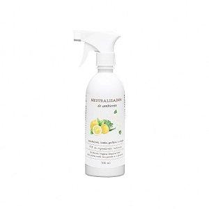 Neutralizador de odores e Aromatizador de ambiente de Mandarina e Rosas Brancas