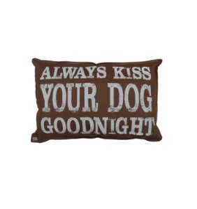 Capa de Cama Always Kiss Your Dog Goodnight