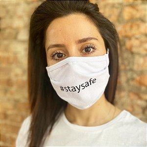 Máscara de Proteção #staysafe Pacote com 3 unidades