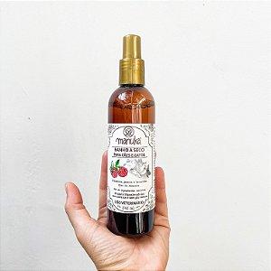Banho a seco de Framboesa, Jasmim, Lavandim e Óleo de Abacate Hipoalergênico, sem parabenos e sem sulfatos 500 ml