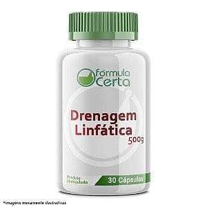 Drenagem Linfática em Cápsula  500 mg - 30 Doses