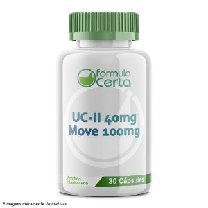 UC-II 40mg +  Move 100mg -  30 Cápsulas