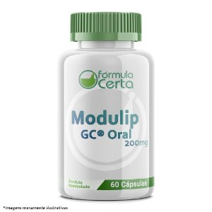 Modulip GC® Oral 200mg 60 Cápsulas