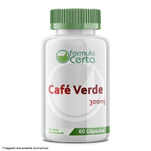 Café Verde (Green Coffee) 300mg Cápsulas