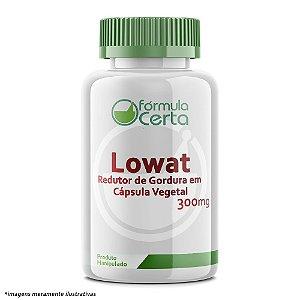 Lowat 300 mg - Redutor de Gordura em Cápsula Vegetal