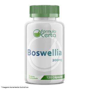 Boswellia 200mg  120 Cápsulas