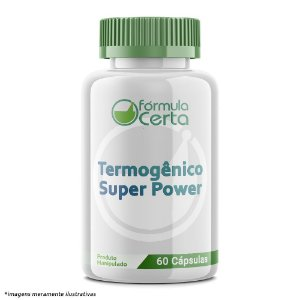 Termogênico Super Power - 60 doses