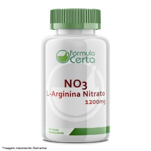 NO3 - L-Arginina Nitrato 1200mg