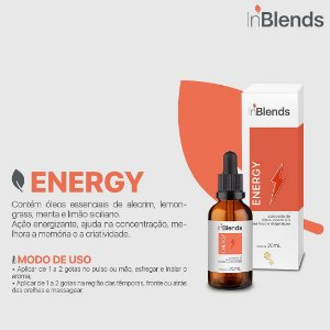 Óleo Essencial - INBLENDS ENERGY 20 ML