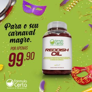 Reddish Oil 60  Doses - Termogenico