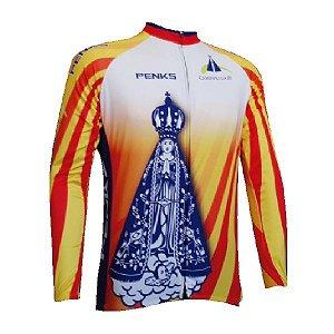 Camisa Ciclismo Penks Caminho da Fé manga longa