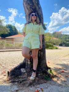Shorts de Sarja Lima