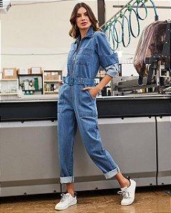 Macacão Jeans Cool