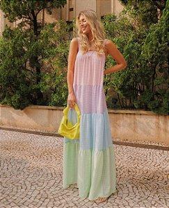 Vestido Longo Vicky Colors
