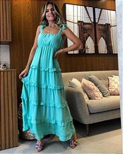 Vestido Savana Verde