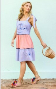 Vestido Lisbela Colors