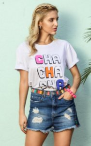 T-shirt Helba Branco