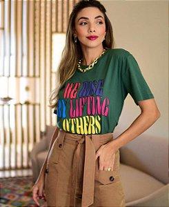 T-shirt Louisa Verde