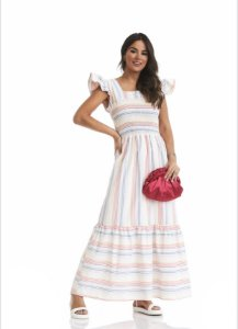 Vestido Stripes Colors