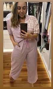 Pijama Pantacour Lavanda