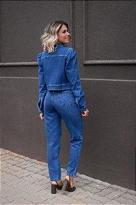 Calça Jeans Boca Reta