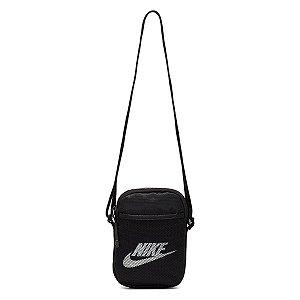 Bolsa Shoulder Bag Nike Heritage S Smit - Preto+Branco