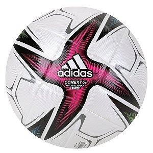 Bola de Futebol Society Adidas Conext21 - Branco+Preto