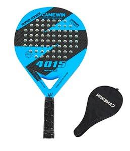 Raquete de Beach Tennis Fibra de Carbono - Camewin