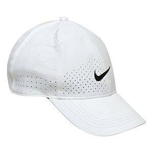 Boné Nike Aba Curva Arobill  Cap - Branco+Preto