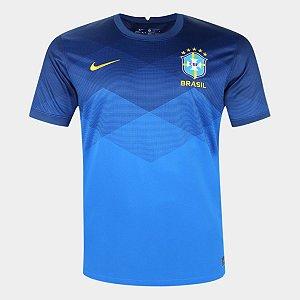 Camisa Seleção Brasil II 20/21 Torcedor Masculina - Azul e amarelo
