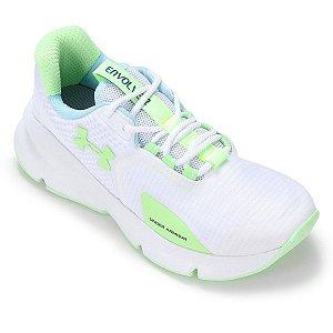 Tênis Under Armour Envole 2 Branco+ Verde