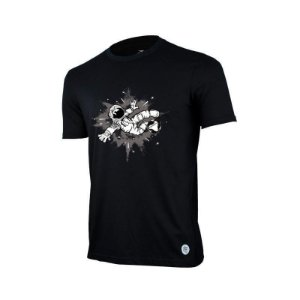 Camiseta Penalty Espaço Juvenil Preto