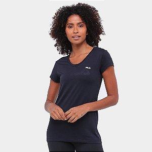 Camiseta Fila Dots II Feminina - Preto