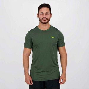 Camiseta Fila Basic Sports Masculina - Verde