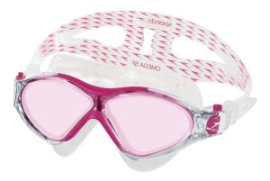 Óculos De Natação Omega Sf  Speedo Rosa
