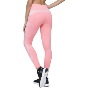 Calça Legging Selene Sem Costura Feminina - Rosa